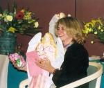 Karyne Wilner recieves angel gift at Australia training